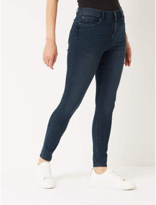 George Dark Wash Ultimate 4 Way Stretch Skinny Jeans