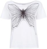 Cacharel butterfly print t-shirt