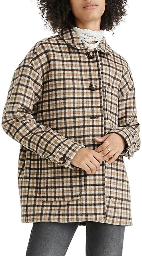 Madewell Kenwright Plaid Jacket