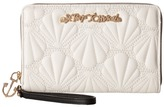 Betsey Johnson Shell Yeah Large Wallet
