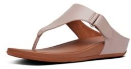 FitFlop Women's Vera Toe-Thong Wedge Sandal Women's Shoes