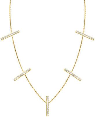 Ariana Rabbani 14K 0.25 Ct. Tw. Diamond Bar Necklace