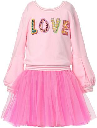 Truly Me Kids' Love Two-Piece Tutu Dress