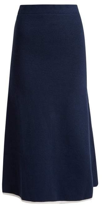 ce2bde28ed A Line Leather Midi Skirt - ShopStyle Australia