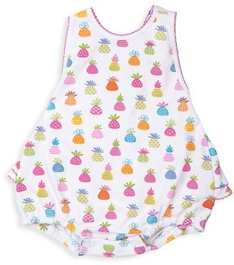 Kissy Kissy Baby Girl's Pineapple Island Print Pima Cotton Bubble