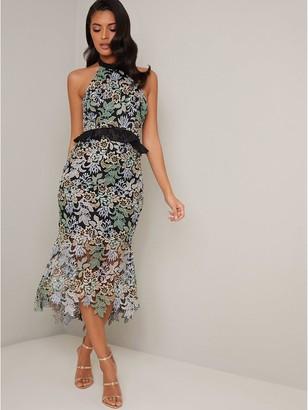 Chi Chi London Jaelana Dress - Black