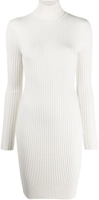 Wolford Ribbed Knit Sweater Dress