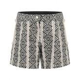 Chloé ChloeGirls Black & White Jacquard Shorts