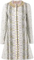 Giambattista Valli embroidered tweed coat - women - Silk/Cotton/Polyester/Viscose - 44