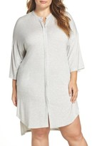 DKNY Plus Size Women's Knit Sleep Shirt