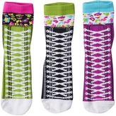 LittleMissMatched Girls 4-9 Little Miss Matched 3-pk. Sneaker Anklet Socks