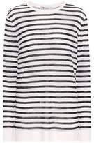 Alexander Wang Striped long-sleeved shirt