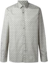 Lanvin diamond paisley pattern shirt - men - Cotton - 39