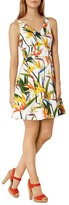 Karen Millen Bird Of Paradise Print Dress