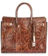 Saint Laurent Small Sac De Jour Python Carryall Bag