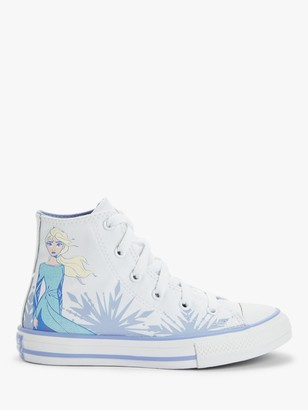 Converse Children's Disney Frozen II Elsa Print Hi-Top Trainers, Multi