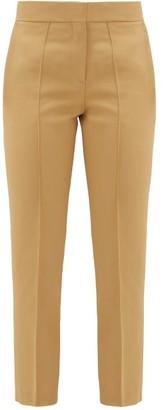 A.P.C. Lauren Pleated Skinny Trousers - Womens - Beige