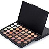 LandFox 40 Colors Cosmetic Powder Eyeshadow Palette Makeup Set Matt Available (A)