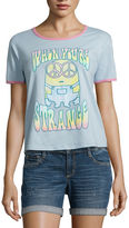 Fifth Sun Minions When you're strange Graphic T-Shirt- Juniors