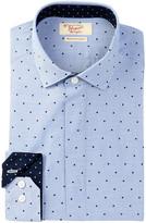 Original Penguin Pinpoint Slim Fit Tuxedo Shirt