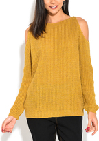 Yellow Cutout Pullover - Plus Too