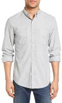 Billy Reid Men's Randall Selvedge Denim Sport Shirt