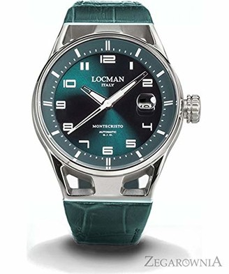 Locman Analog Quartz Watch with Stainless Steel Strap Clear 3 (Model: 4573282437193)
