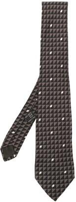 Versace Pre Owned Patterned Silk Tie