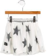 Nununu Girls' Tulle Star Print Skirt w/ Tags