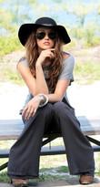 Ramona LaRue - Mandy Pant - Charcoal Gray