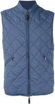 Canali quilted vest - men - Polyester - 48