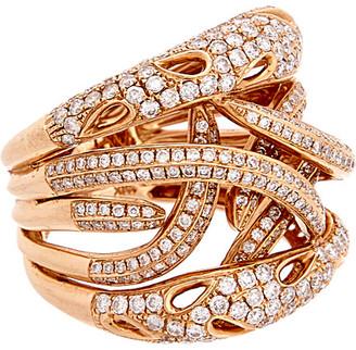 Diana M 18K Rose Gold 1.90 Ct. Tw. Diamond Ring