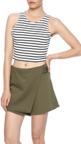 Bishop + Young Stripe Knit Crop Top
