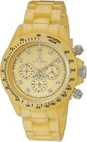 Toy Watch Toy Women's FLP07GD Quartz Dial Plastic Yellow Dial Watch