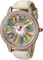 Betsey Johnson Women's BJ00563-01 Analog Display Quartz Watch