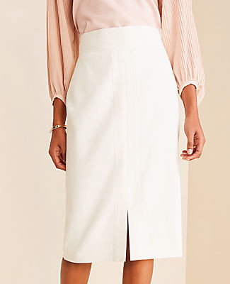 Ann Taylor Stitched Pencil Skirt