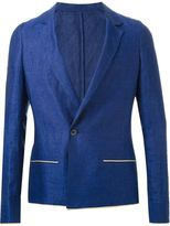 Haider Ackermann single button blazer - men - Linen/Flax - 46
