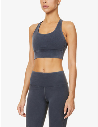 Lorna Jane High Coverage stretch-jersey sports bra