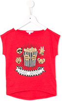 Little Marc Jacobs popcorn print T-shirt