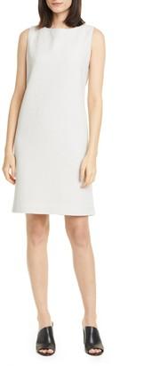 Eileen Fisher Jacquard Sleeveless Shift Dress