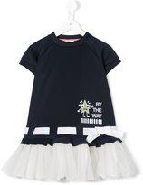 Fendi tutu T-shirt dress - kids - Cotton/Polyamide/Polyester/Spandex/Elastane - 6 yrs