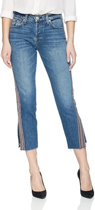 Hudson Women's Riley Luxe Crop with RAW Hem 5 Pocket Jean