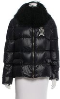 Emilio Pucci Fur-Trimmed Down Jacket w/ Tags