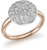 Pomellato Sabbia Ring with Diamonds in 18K Rose Gold