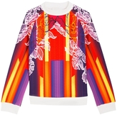 Peter Pilotto Abstract Floral Neoprene Sweatshirt