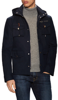 Michael Bastian Solid Hooded Field Jacket