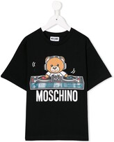 Moschino Kids bear print T-shirt