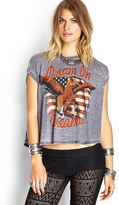 Forever 21 Dream On Muscle Tee