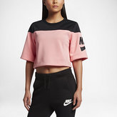 Nike Sportswear Cropped Fleece Women's Short Sleeve Top