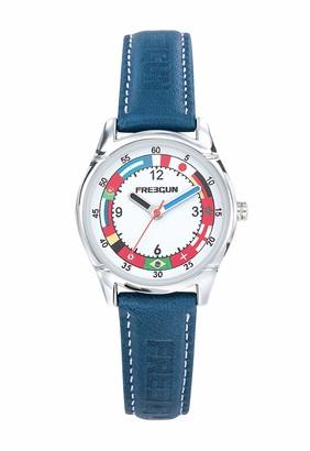 Freegun Unisex Child Analogue Quartz Watch with Leather Strap EE5247